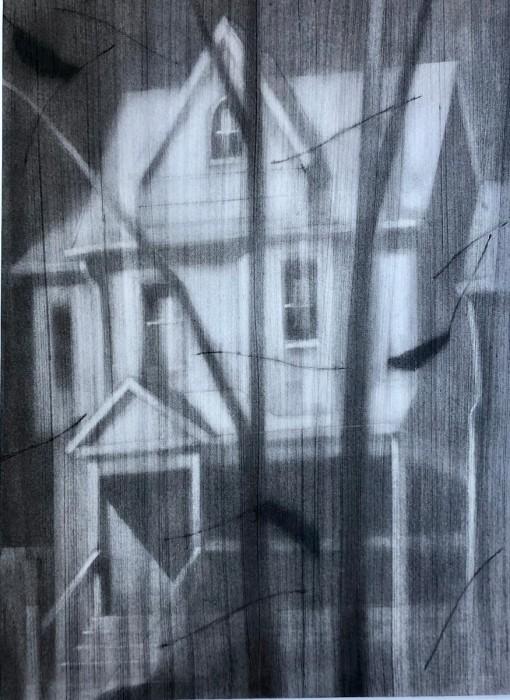 Bridge house drawing